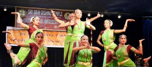 Team Jayamangala performs at the Swathi Tirunal Festival in USA