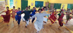 P.T. Narendran's Bharatnatyam workshop in Burdhaman